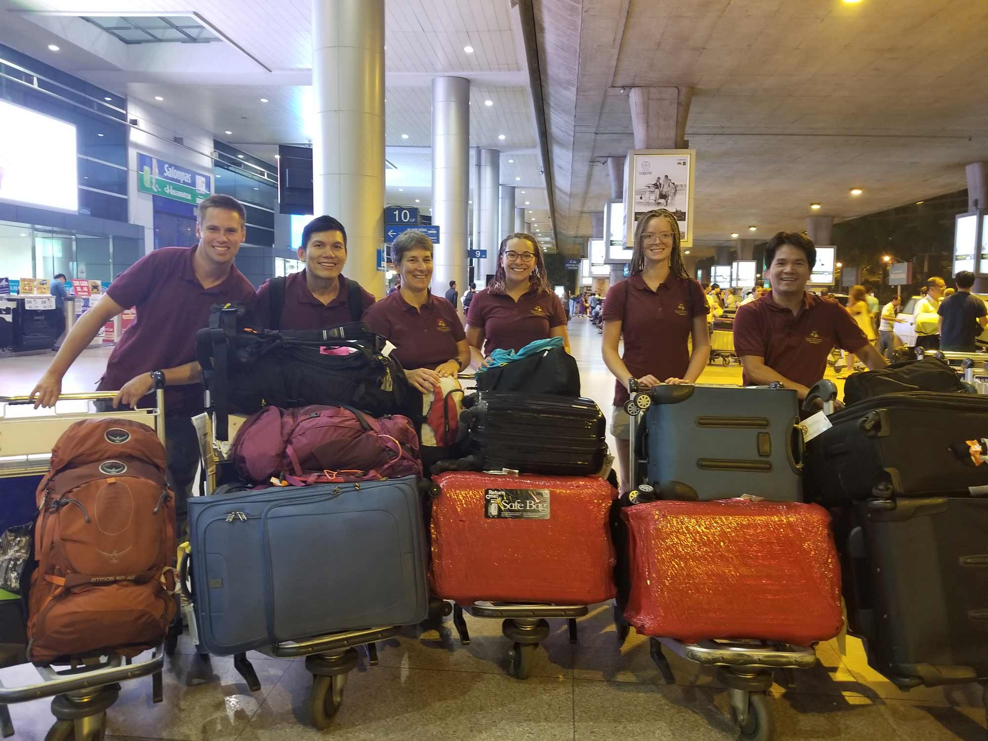 Mission au Vietnam (2018) - Association des podiatres sans frontières