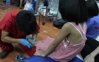 Mission au Vietnam (2014) - Association des podiatres sans frontières