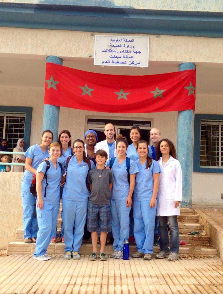 Mission au Maroc (2014) - Association des podiatres sans frontières