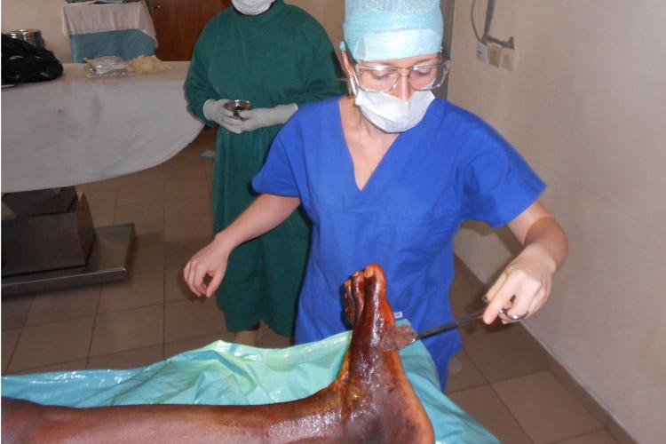 Mission au Togo (2013) - Association des podiatres sans frontières