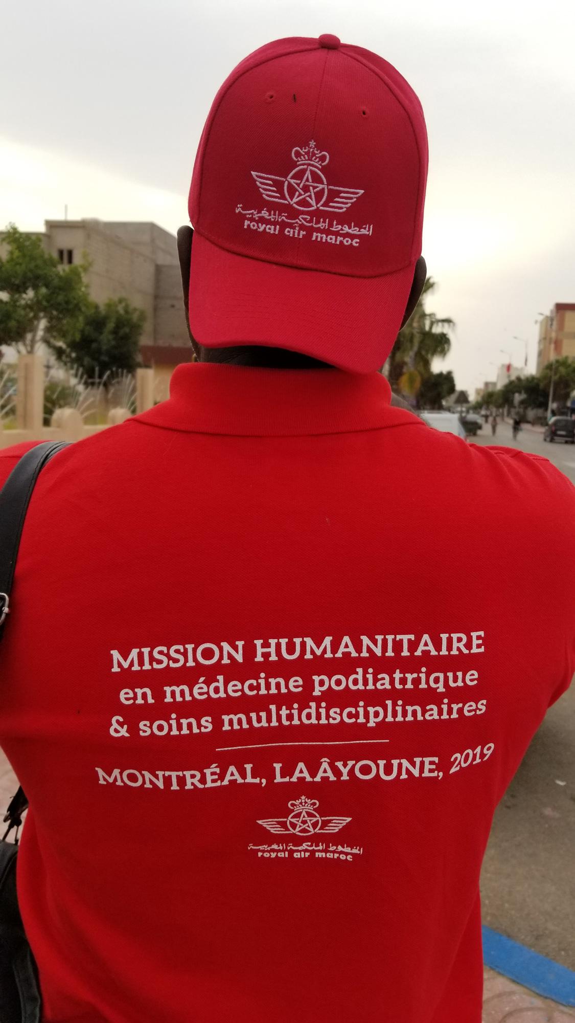 Mission à Laâyoune, Maroc (2019)