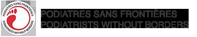 Podiatres sans frontières Logo